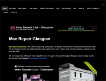 Tablet Preview of macrepairglasgow.co.uk